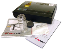 Wirtgen oil analysis kit from OELCHECK