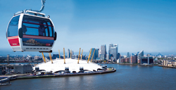 "The ""Emirates Air Line"" in London"