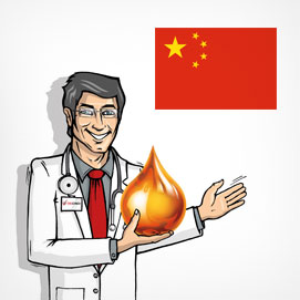The oil doctor in China